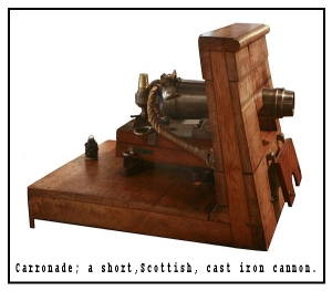 Scottish carronade